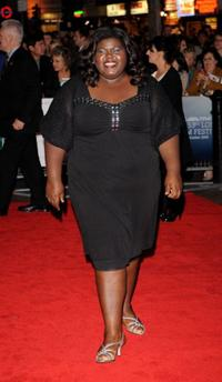 Gabourey Sidibe at the premiere of