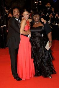 Lee Daniels, Paula Patton and Gabourey Sidibe at the 62nd International Cannes Film Festival.