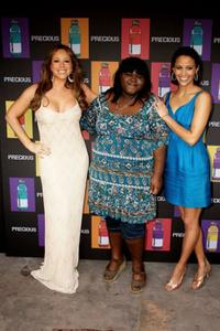 Mariah Carey, Gabourey Sidibe and Paula Patton at the 62nd International Cannes Film Festival.