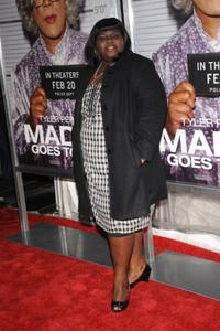 Gabourey Sidibe at the screening of Tyler Perry's