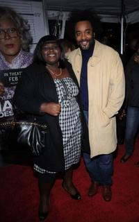 Gabourey Sidibe and Lee Daniels at the screening of Tyler Perry's