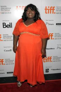Gabourey Sidibe at the screening of