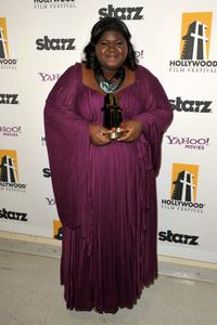 Gabourey Sidibe at the 13th Annual Hollywood Awards Gala Ceremony.