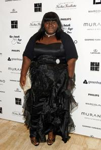 Gabourey Sidibe at the after party of