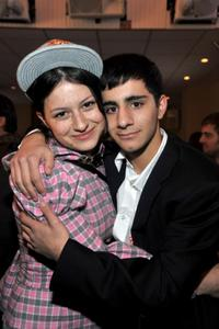 Alia Shawkat and Melkar Muallem at the Entertainment Weekly & L'Oreal Paris party during the 2009 Sundance Film Festival.