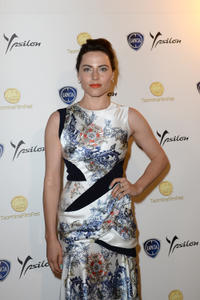 Antje Traue at the celebration of Lancia Cafe during the Taormina Filmfest 2013.