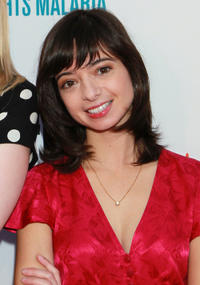 Kate Micucci at the Malaria No More's
