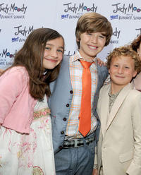 Ashley Boettcher, Garrett Ryan and Parris Mosteller at the California premiere of