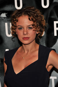 Laura Kenley at the New York premiere of