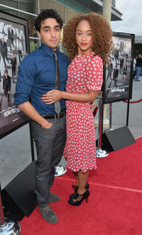 E.J. Bonilla and Chaley Rose at the California premiere of