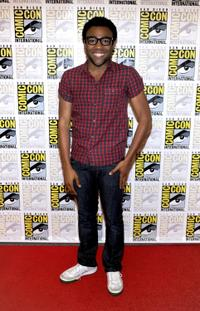 Donald Glover at the Comic-Con 2010.
