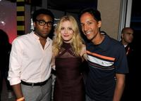 Donald Glover, Gillian Jacobs and Danny Pudi at the Comic-Con 2010.