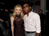Gillian Jacobs and Donald Glover at the Comic-Con 2010.