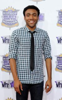 Donald Glover at the 2010 VH1 Hip Hop Honors.