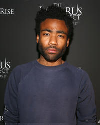 Donald Glover at the California special screening of