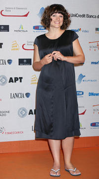 Veerle Baetens at the Day 4 of the Roma Fiction Fest 2008.
