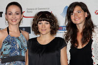 Angeliki Daliani, Veerle Baetens and Nyncke Beekhuyzen at the Day 4 of the Roma Fiction Fest 2008.