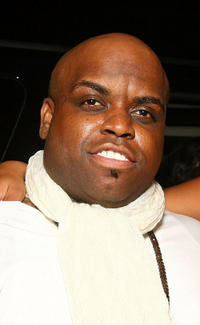 Cee Lo Green at the recording artist Solange Knowles' birthday party in California.