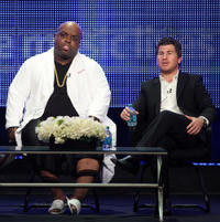 Cee Lo Green and executive producer Jason Hervey at the