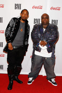 Musician Big Gipp and Cee Lo Green at the BMI Urban Awards in New York.