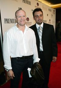 Michael Rooker and Nino Simone at the 5th Annual International Beverly Hills Film Festival.