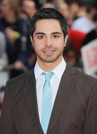 Satya Bhabha at the European premiere of
