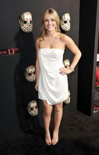 Julianna Guill at the premiere of