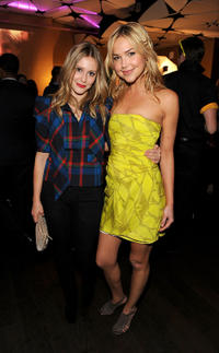 Julianna Guill and Arielle Kebbel at the after party of premiere of