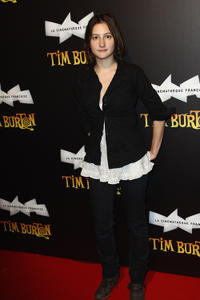 Lola Creton at the Tim Burton Exhibition Launch in France.