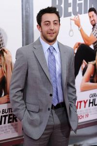 Adam Rose at the premiere of