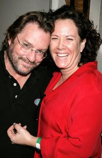 A File photo of Stephen Root and his wife Romy Rosemont dated August 24, 2006.