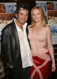 Alan Rosenberg and his wife Marg Helgenberger at the premiere of