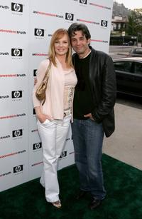Marg Helgenberger and husband Alan Rosenberg at the Los Angeles premiere of