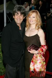Alan Rosenberg and Marg Helgenberger at the 31st Annual People's Choice Awards.