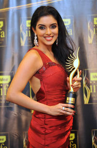 Asin Thottunkal at the 2009 International Indian Film Academy Awards ceremony in Macau.