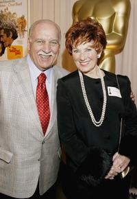 Paul Michael and Marion Ross at the Reception To Honor Blake Edwards.