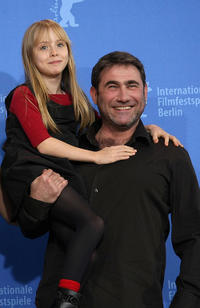 Melusine Mayance and Sergi Lopez at the photocall of