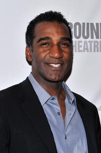 Norm Lewis at the after party of the Broadway Opening Night of
