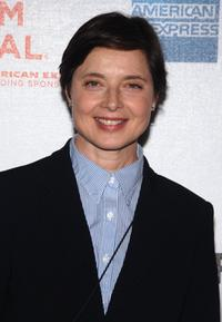 Isabella Rossellini at the premiere of