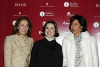 Isabella Rossellini, Snezhana Lazova Kerim and Lila Castellaneta at the