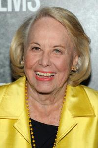 Liz Smith at the New York premiere of