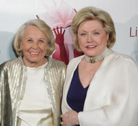 Liz Smith and Barbara Taylor at the Literacy Partner's 26th Annual Evening Of Readings Gala in New York.