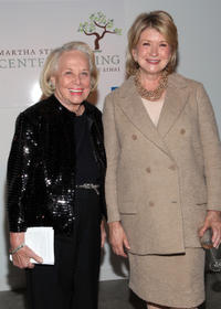 Liz Smith and Martha Stewart at the 2nd Annual Martha Stewart Center for Living Gala in New York.