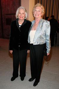 Liz Smith and Iris Love at the 2011 Ballroom Marfa Benefit in New York.