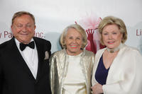 Robert Bradford, Liz Smith and Barbara Taylor at the Literacy Partner's 26th Annual Evening Of Readings Gala in New York.
