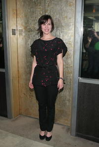 Sarah Burns at the screening of
