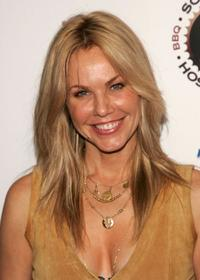 Andrea Roth at the grand opening of the new restaurant Southern Hospitality.