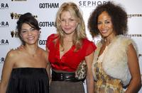 Callie Thorn, Andrea Roth and Sherri Saum at the opening of Sephora Lexington hosted by Gotham Magazine.