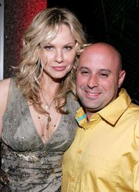 Andrea Roth and producer Jim Serpico at the Season 3 New York premiere of