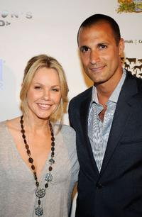 Andrea Roth and Nigel Barker at the HSUS (Humane Society of the United States)